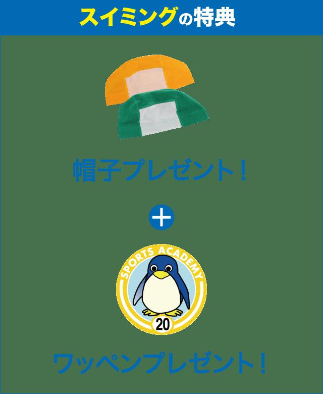 帽子 プレゼント!